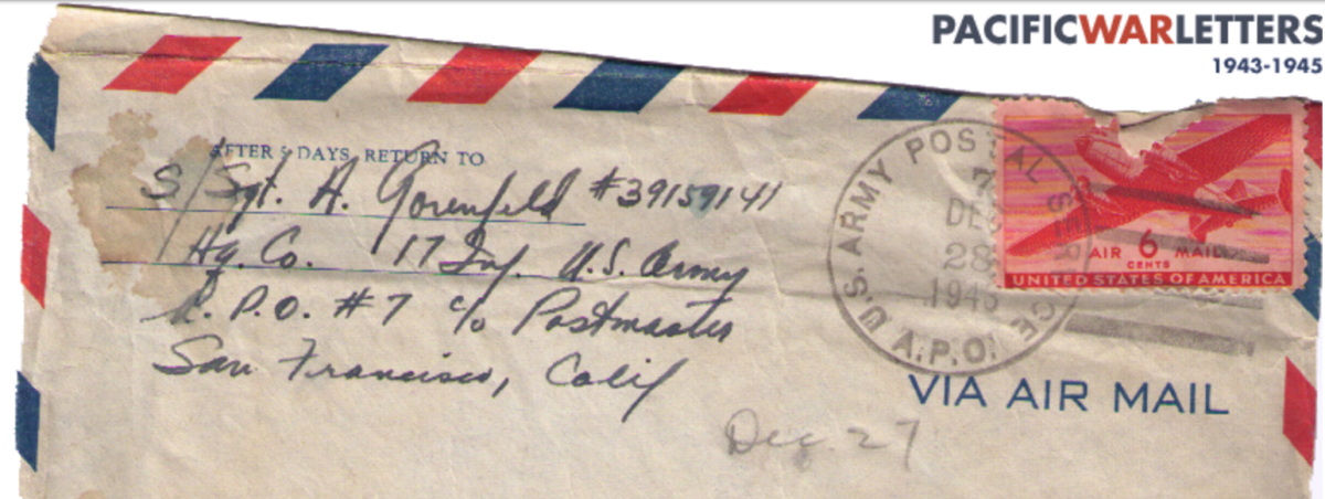 Pacific War Letters